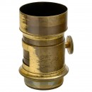 Brass Lens by Carl Dietzler, 2.0/approx. 18 cm (7 in.), c. 1855