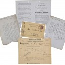Archive of Original Correspondence between Romain Talbot, Paris,