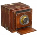 Tropical Wet-Plate Sliding Box Camera by G. Hare, London, c. 186