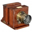 Sliding Box Collodion Camera (2 ¾ x 2 ¾ in.) by Balton & Barnitt