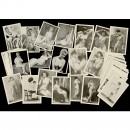 Lot of Nude Photographs and Prints, 1950s
