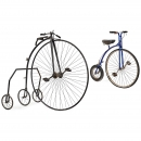 Penny Farthing Bicycle with Sidewheels