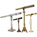 4 Telescopes on Decorative Stands, 19th Century onwards