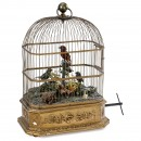 Quadruple-Singing Bird Cage Automaton by Blaise Bontems, c. 1910