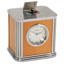 Francastel Singing Bird Automaton Alarm Clock by Reuge