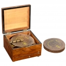 Polyphon Disc Musical Box with 6 Bells