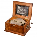 Symphonion Style 25 Disc Musical Box, 1900