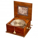 Polyphon Disc Musical Box Model 42 CG with 12 Bells, c. 1900