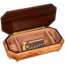 Sankyo Musical Box with Inlaid Case