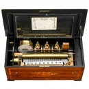 Tambour, Timbres, Castagnettes en Vue Musical Box with Chinois