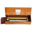 Key-Wind Musical Box by Nicole Frères with Bellini Repertoire, c