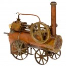 Live Steam Traction Engine Model, c. 1930