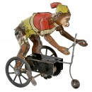 Monkey on Tricycle – An Early German Tin Toy, c. 1915