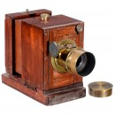 Rare British Daguerreotype Sliding Box Camera, c. 1856