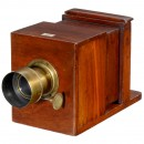 Sliding Box Daguerreotype Camera by Frederick J. Cox, c. 1848