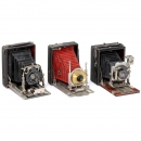 3 Folding-Bed Plate Cameras