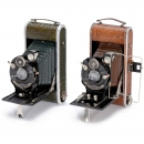 2 Deluxe Rollfilm Cameras by Foth, c. 1927/30
