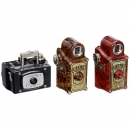 3 Subminiature Cameras by Coronet