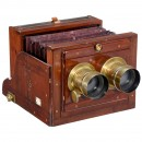 Stereo Wet-Plate Camera by Murray & Heath, London, c. 1860–70
