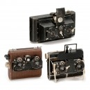 3 Bench-Built Stereo Cameras, 1930s