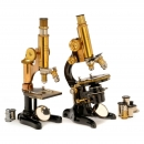 2 Microscopes by Ernst Leitz