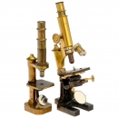 2 Early Microscopes by Carl Zeiss