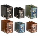 6 Beau Brownie Cameras, 1930