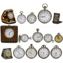 15 Travel and Pocket Watches, 1900 onwards