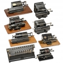 8 Calculating Machines