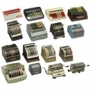 Collection of 16 Fast Adding Machines