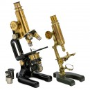 2 German Compound Microscopes