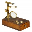 Small Dissecting Microscope by Deleuil, Paris