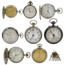Small Group of Pocket Watches