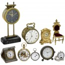 Interesting Group of Small Clocks, 1920 onwards