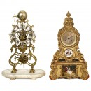 4 Reproductions of Historic Clocks, c. 1980