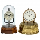 2 English Electric Mantel Timepieces