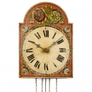 Black Forest Shield Dial Wall Clock, c. 1860