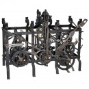 Large Tower Clock Movement, c. 1880