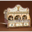 Model of Fairground Sweets Sales Wagon