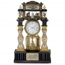 Viennese Portico Clock with Musical Movement, c. 1880