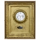 Viennese Musical Picture Frame Clock, c. 1860