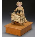 Rock A Bye Doll Automaton, from 1902