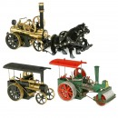 Wilesco Steam Roller and Traction Engines