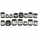 15 M42 Screw-Mount Lenses by Zeiss