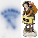 Magic Lantern Porcelain Figure