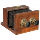 Stereo Camera (Chambre Double D'Atelier) by Jamin, c. 1855