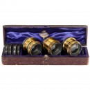 Zeiss Convertible Anastigmat Stereo Lenses by Ross, c. 1900