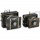 2 Plate Cameras by Nettel