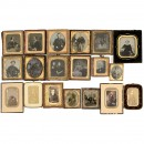 12 Ambrotypes and Other Photographs, 1860 onwards