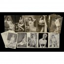 Lot Nude Postcards
